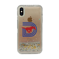 Triple D Clear Glitter Shell Phone Case, Classic V1  iPhone XXs