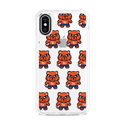 (Tokyodachi) Clear Tough Edge Phone Case, Mascot V1  iPhone X