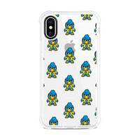 (Tokyodachi) Clear Tough Edge Phone Case, Mascot V1  iPhone XS Max