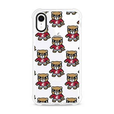 (Tokyodachi) Clear Tough Edge Phone Case, Mascot V1  iPhone XR