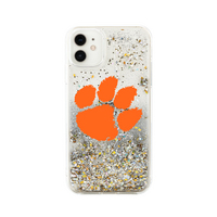 Clear Glitter Shell Phone Case, Classic V1  iPhone 11