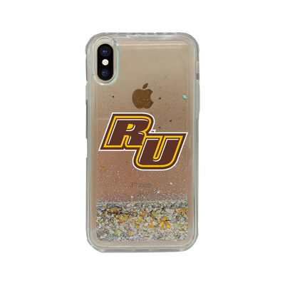 Clear Glitter Shell Phone Case, Classic V1  iPhone XXs