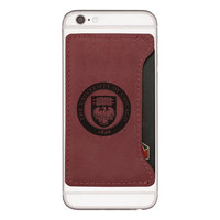 LXG Cellphone Card Holder, Burgandy