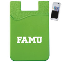 Slim Silicone Card Wallet Dark Green