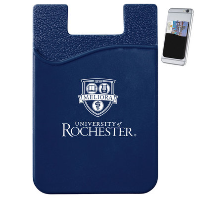 University Of Rochester Bookstore Dual Pocket Slim Silicone Phone