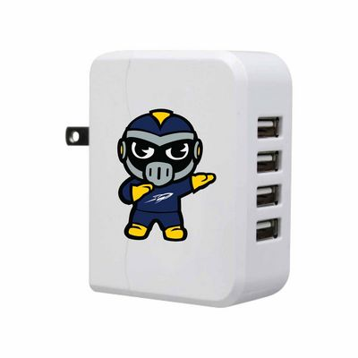 Tokyodachi White USB 4port Wall Charger, Classic V5