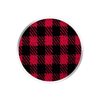 Popsockets,  Classic Check Red