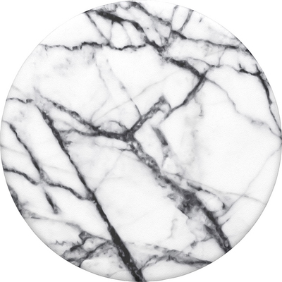 PopSockets Dove White Marble Swappable PopGrip
