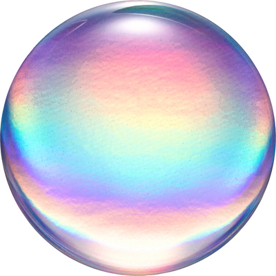 Popsockets 800959 Swappable PopGrip Rainbow Orb Gloss