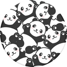 Popsocket  800976 PopGrip,Pandamonium