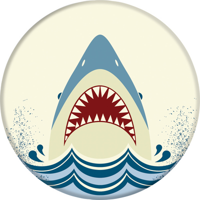 Popsocket  801008 PopGrip, Shark Jump