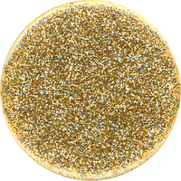 PopSockets Swapple PopGrip, Glitter Gold