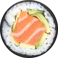 PopSockets Swappable PopGrip, Salmon Roll