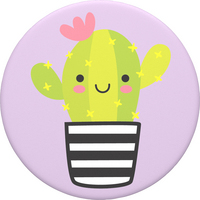 PopSockets 800954 Swappable PopGrip Cactus Pal