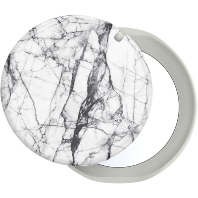 Popsocket, PopMirror, Dove White Marble Gloss