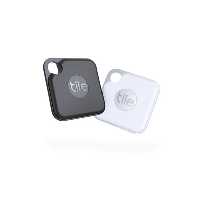 Tile  2020 Pro Item Tracker (2Pack)  BlackWhite