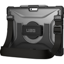 Urban Armor Gear Plasma Series Surface Pro X Case, 11.8x8.64x0.02in, Ice