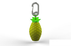 BuQu Pina 2500 mAh Yellow Pineapple Power Bank for USB Devices