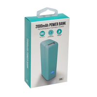 GEMS 2000 MAH POWER BANK TEAL