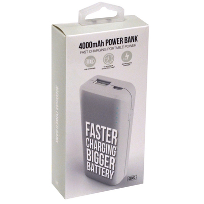 GEMS RAPID CHARGE POWER BANK WHITE