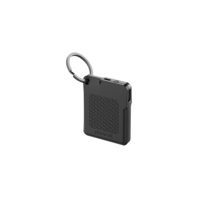 PhoneSuit FlexCard Keychain Pocket Charger, Black