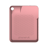 PhoneSuit FlexCard Keychain Pocket Charger, Rose Gold, 2600mAh