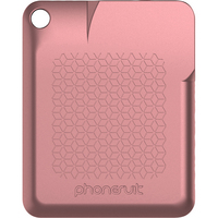 PhoneSuit FlexCard Keychain Pocket Charger, Rose Gold