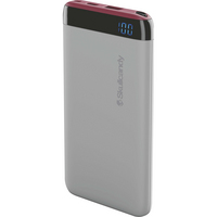 Skullcandy Stash Battery Pack,6,000 mAh,ViceGrayCrimson