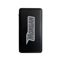 Leather Power Bank 10,000 mAh, Black, Alumni V2