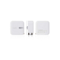 MOSHI CORP Rewind Dual Port Wall Charger  White