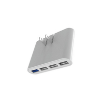 iHome 4 Port AC Pro Wall Charger IHCT525W