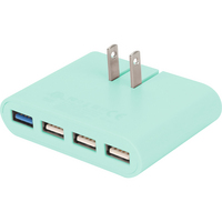 iHome Pro Slim Wall Charger Pastel Green