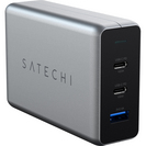 Satechi USBC PD Compact GaN Charger, 100W, Space Gray