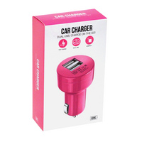GEMS CAR CHARGER PINK