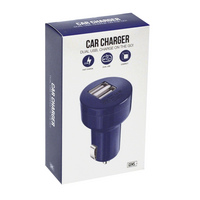 Car Charger Blue