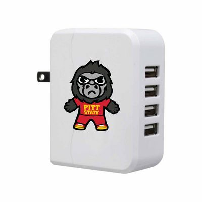 Tokyodachi White USB 4port Wall Charger, Classic V4