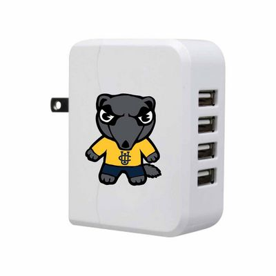 Tokyodachi White USB 4port Wall Charger, Classic V1