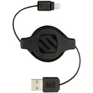 Scosche Retractable Lightning USB