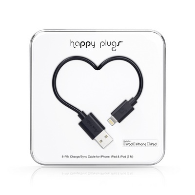 Happy Plugs Lightning Black