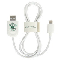 William & Mary Custom Lightning Cable Clip