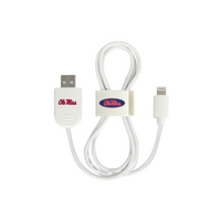 University of Mississippi Custom Lightning Cable Clip