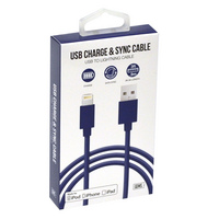 GEMS LIGHTNING CABLE 3FT  BLUE