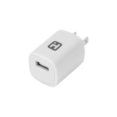 iHome AC WallCharger  Lightning Cable White