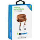 OnHand Premium Leather Sync & Charge Cable