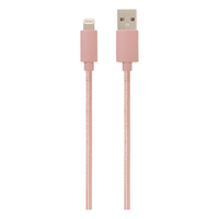 Helix Charge& Sync Lightning Cable 5ft Rose Gold