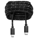 OnHand Everlasting Nylon Charge and Sync Cable, 6ft, Black