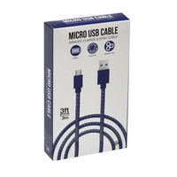 GEMS Micro USB Cable Blue