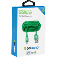OnHand Charging Cable,Green