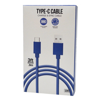 Type C Cable Blue