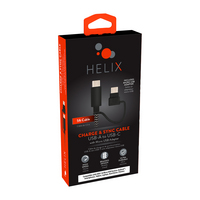 Helix USBAUSBC wMcr 5 FT Black